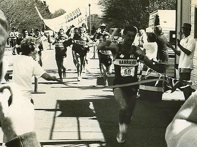 Lewis & Clark Relay - 1989 - The moment of glory
