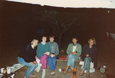 1989xxxx France with Simone & Indra & Iris