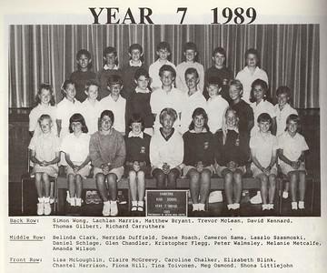 1989xxxx Year 7 Liz highschool