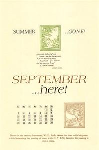September, 1989, Rectory Basement Press