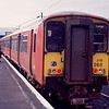 318268 at Largs with the 11:50 to Glasgow Central 16/01/89