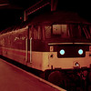 47642 at Inverness after working the 20:55 from Aberdeen 16/01/89