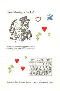 June, 1989, Wyvern Press
