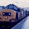 37405 at Fort William with the 10:05 to Mallaig 17/01/89