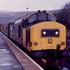 37404 at Crainlarich working the 12:50 Oban - Glasgow Queen St 19/01/89