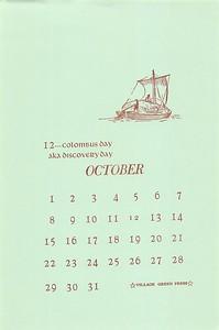 October, 1989, Village Green