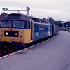 47644 at Inverness with the 10:35 to London Euston 18/01/89