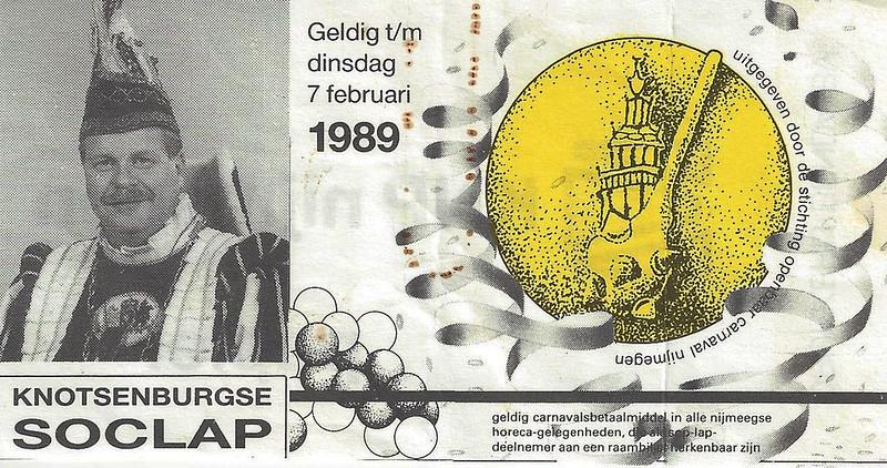 Het toenmalige betaalmiddel in Knotsenburg