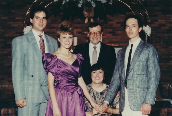 1989 Williams & Schofield family photos