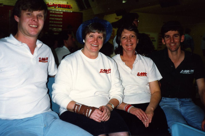 2AAA team: Andrew & Lois Cabot, Beryl Thompson, Marty Salmon