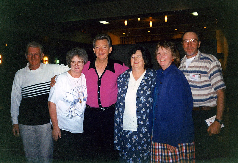 L to R: Don Alchin, Lois Cabot, Paul, Val Vearing, Beryl Thompson, Neil Begley