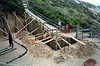 1991 early Building Retaining Wall 08