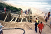 1991 early Building Retaining Wall 21