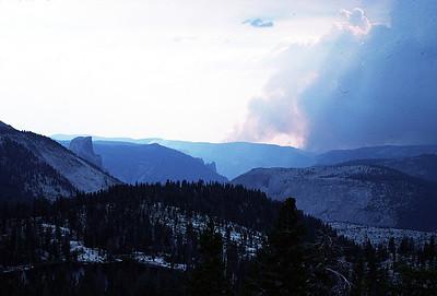8/5/1990~8/11/1990 - Yosemite Hike