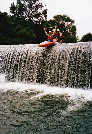 1990xxxx Kayak with GJ & Karel