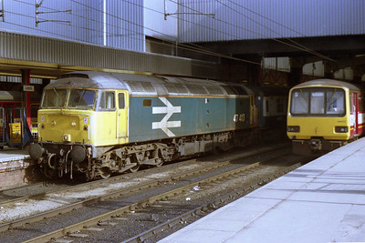 47413 at Leeds with the SuO 1A16 1125 to Kings Cross, which it hauled as far as Doncaster for a '91' forward (11/03/1990)