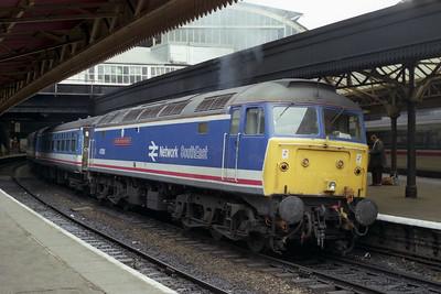 47583 at Paddington with an ECS to Kensal Green (12/05/1990)