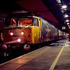 47580 at Crewe working the 16:18 Holyhead - London Euston 27/01/90