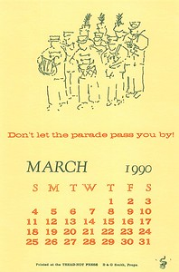 March, 1990, Tread-Not Press