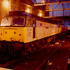 47317 + 47407 on arrival at Carlisle after working the 13:02 from Leeds 24/02/90