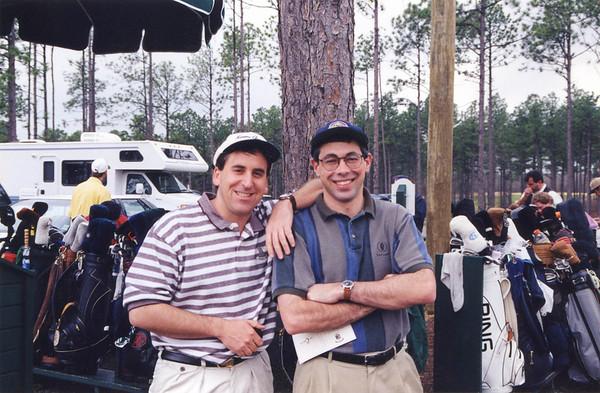 1998(?) - With Billy at The Carolina, Pinehurst, North Carolina.
