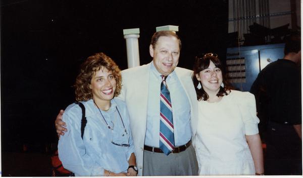 1990 05 Robin Weiner USC Graduation