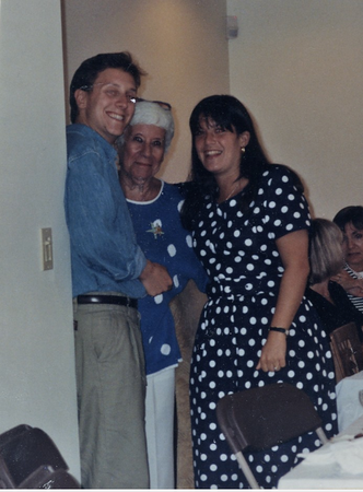 1992 08 Steven and Emily's Engagement Party