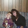 Brandon with his soccer trophy - Nov 92