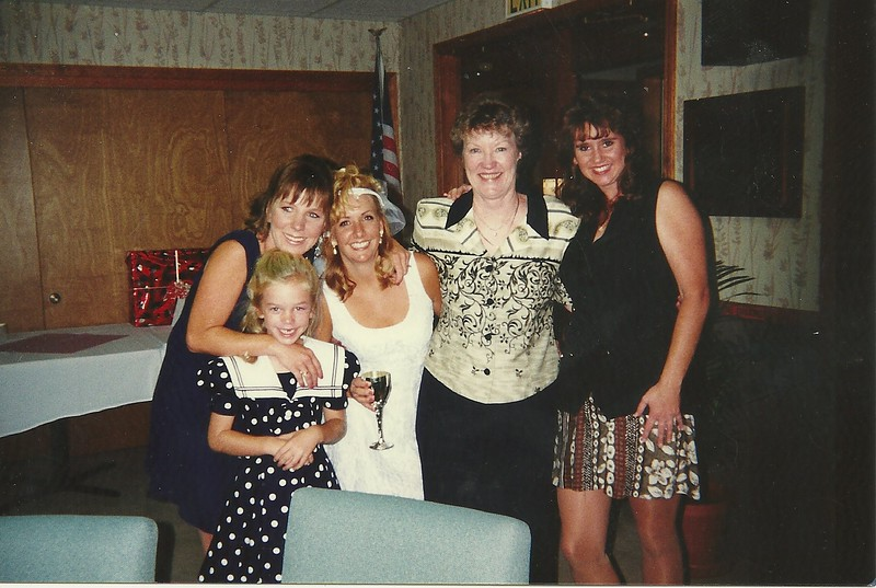 Mike and Heidi's wedding - Sept 96
