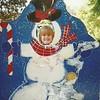 A postcard Brittany's teacher sent her over the Christmas break