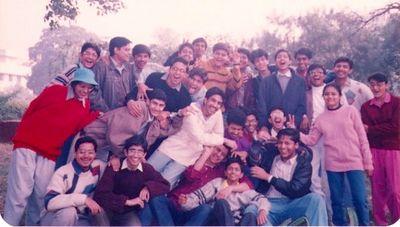 1993 Batch 12-D Group Photo