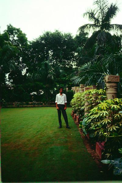 Rajiv as School Princepal for the Day