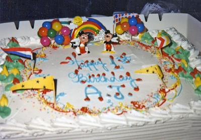 02 AJ's First Birthday