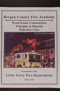 Bergen County Fire Academy - LFFD March 2015