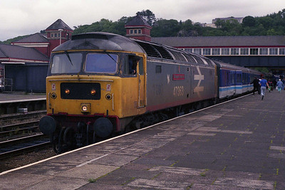 My fifth 'new' Brush of the year calls at Bangor with 2D67 (17/08/1991)