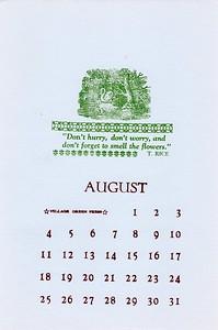 August, 1991, Village Green