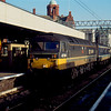 47704 arrives at Manchester Oxford Road working the 10:25 Newcastle - Liverpool Lime St 19/01/91