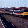 91012 at York with the 18:00 charter train to London Kings Cross 20/04/91