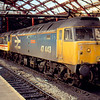 47443 + 47509 await their next turn of duty at Liverpool Lime St 19/01/91