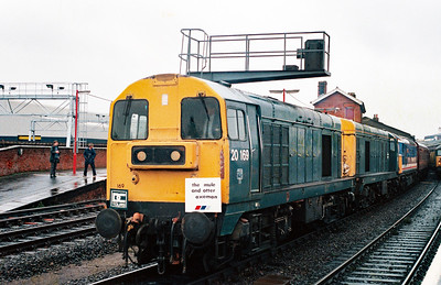 20 169 at Salisbury on 14th November 1992