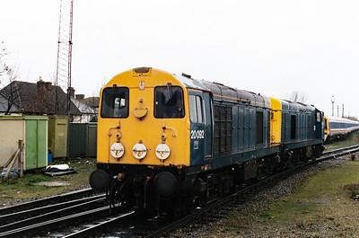 20 092 at Salisbury on 14th November 1992
