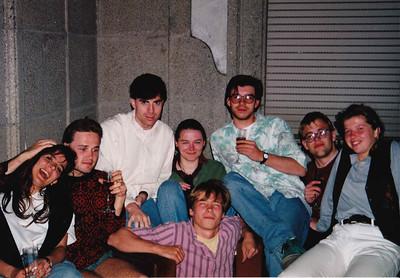 19920501 Santiago de Compostela BBQ