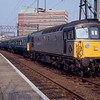 33116 at Enfield Town working the Liverpool Leapforg railrour 07:38 London Waterloo - Southend Victoria 29/02/92