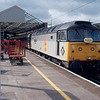 47375 at Crewe with the 10:00 Crewe - Manchester Vic 26/04/92