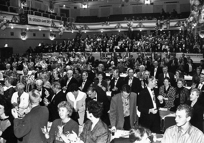 25-jarig jubileum van de Blauwe Schuit in de Vereeniging