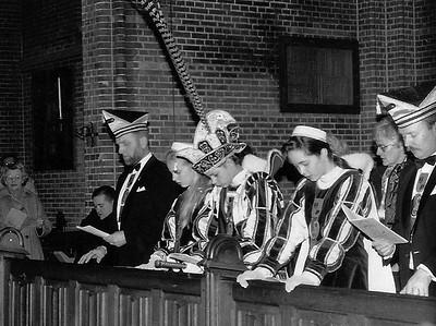 Carnavalsmis in de Maria Geboortekerk aan de Berg en Dalseweg