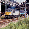 56027 at Preston about to work the 10:30 to Ormskirk as part of Pathfinder Railtours Lancastrian Mini Excursions 22/05/93
