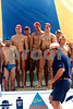 SLSV Championships<br /> Jan Juc<br /> 14 March 1993<br /> Portsea Open Beach Relay Team<br /> 1st Place<br /> L-R<br /> Ed Brice<br /> Wayne Stoll<br /> Craig Parker<br /> Rob Hodges