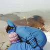 04-02-93 Mom's Memorial Service 10 Long Lake Sarah, Barb