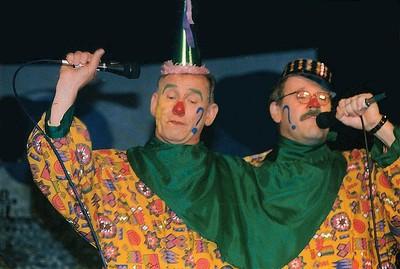 Schlagerfestival met De Vraogtekens: Frans Wolf en Theo Berendsen